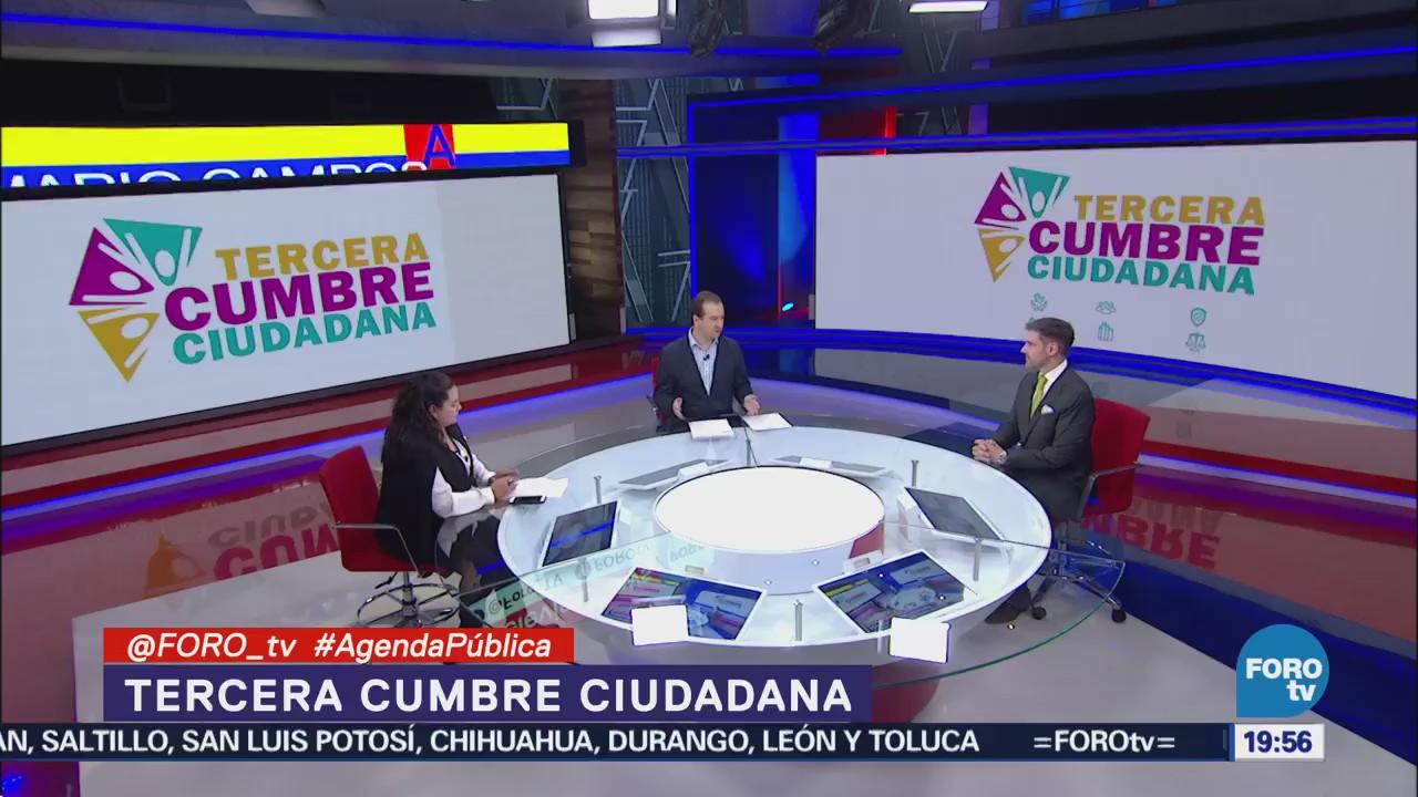Agenda Ciudadana Mesa Organizaciones Civiles Tercera Cumbre Ciudadana