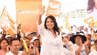 Alejandra Barrares se reúne con vecinos de Álvaro Obregón