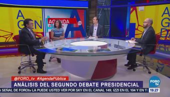 Análisis Segundo Debate Presidencial Agenda Pública