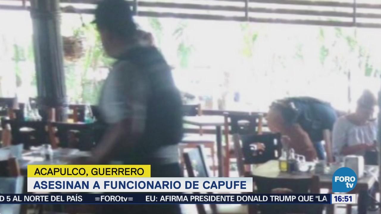 Asesinan Acapulco Funcionario Capufe