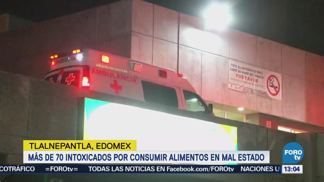 Atienden Intoxicación Masiva Tlalnepantla, Estado México