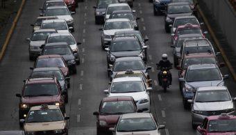 Autos particulares en México crecen 3.2% a tasa anual