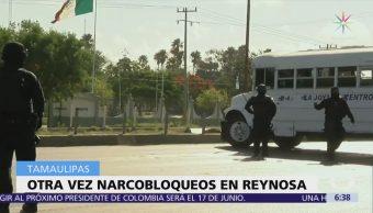 Balaceras y narcobloqueos afectan calles de Reynosa