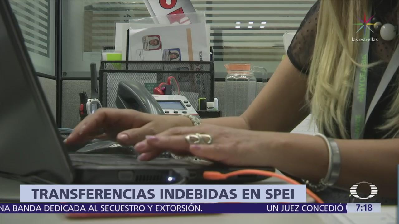 Banxico confirma transferencias no autorizadas en el SPEI; hay varios bancos afectados