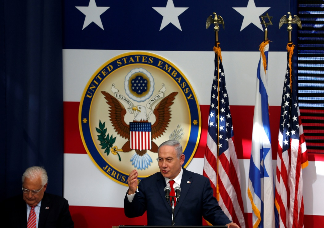 Trump hizo historia con trasladar embajada de EU a Jerusalén: Netanyahu