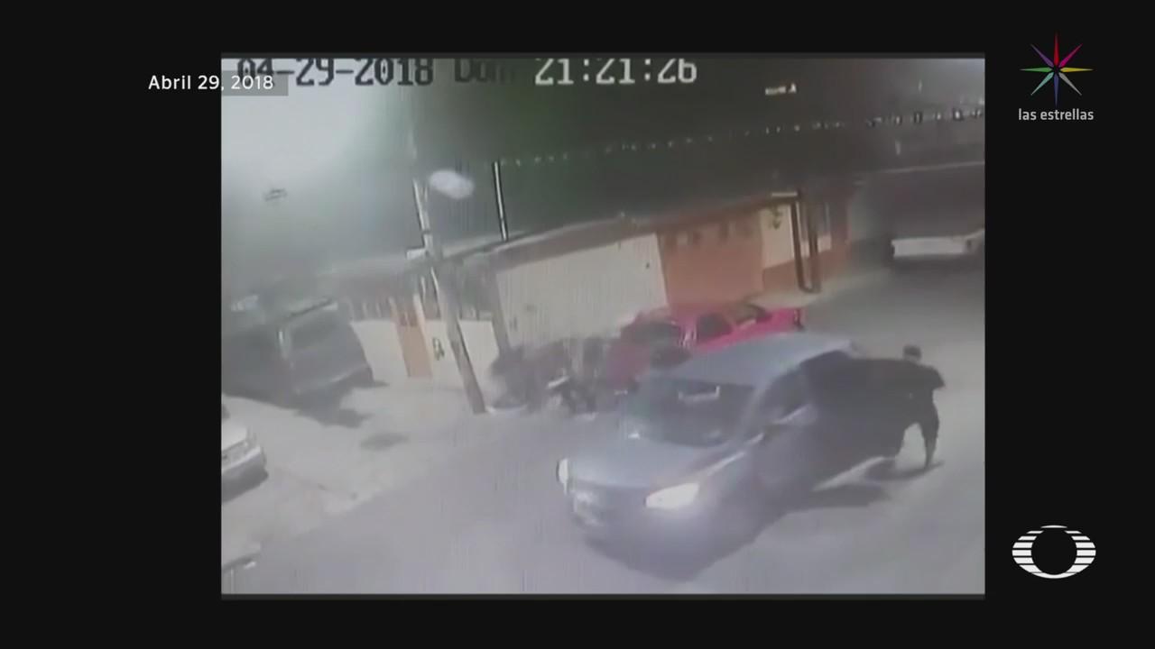 Cámaras Captan Enfrentamiento Iztapalapa CDMX BAlacera