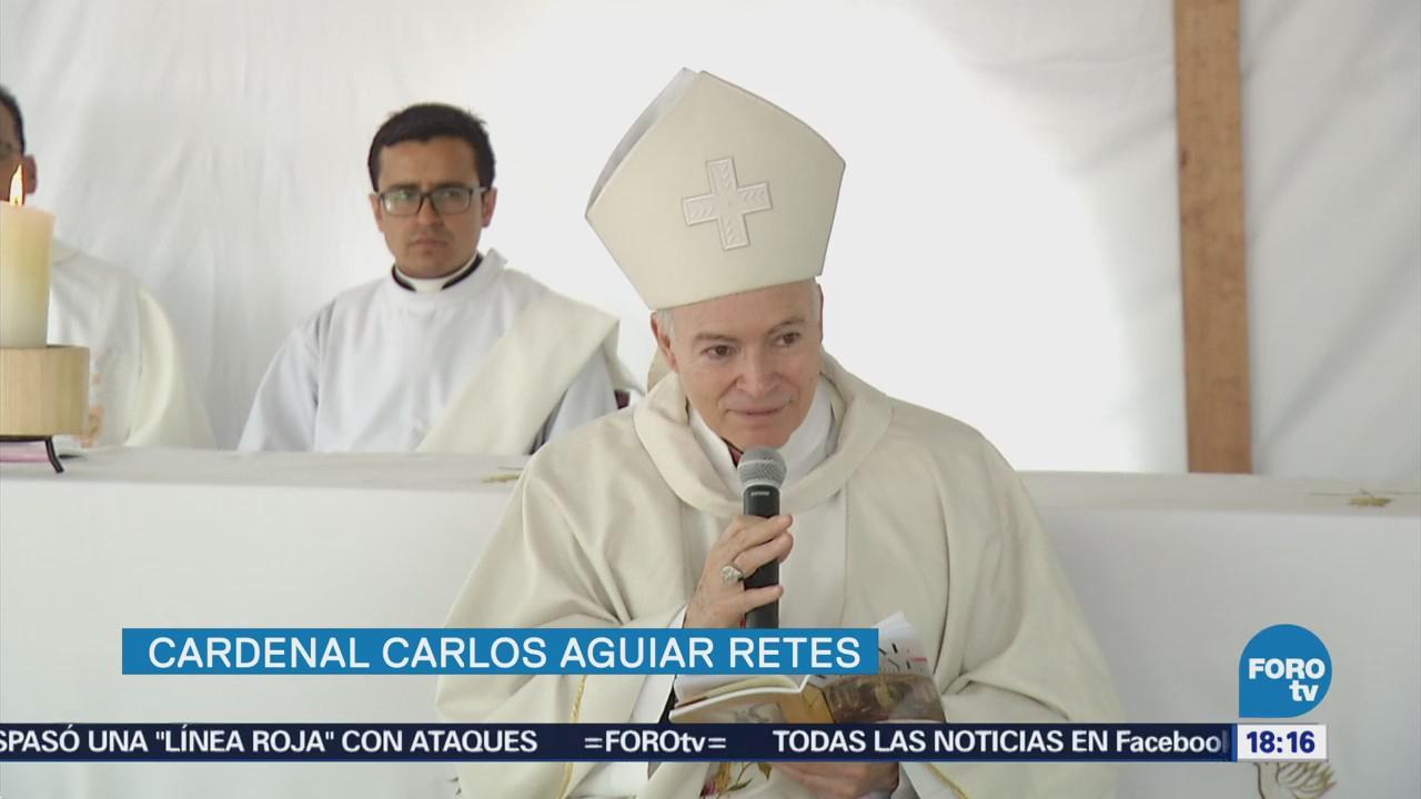 Cardenal Carlos Aguiar Oficia Misa 10 De Mayo Penal De Santa Martha
