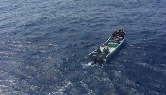Aseguran más de una tonelada de cocaína frente a costas de Michoacán