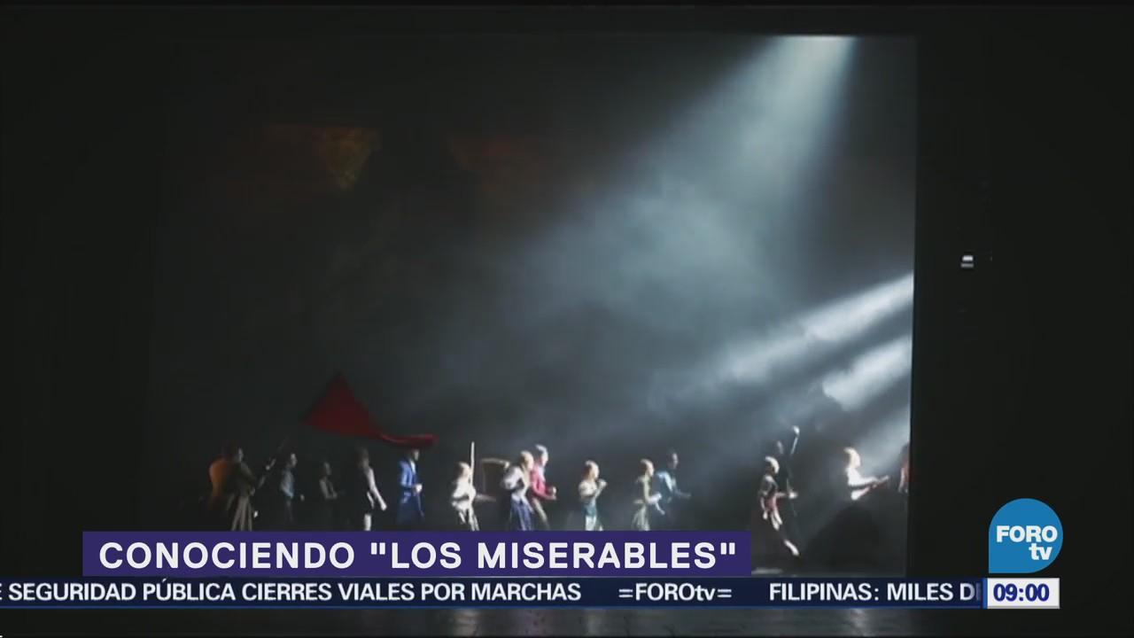 Conociendo la puesta en escena 'Los Miserables' (Parte 2)