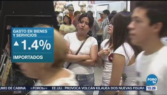 Consumo privado en el mercado interno sube