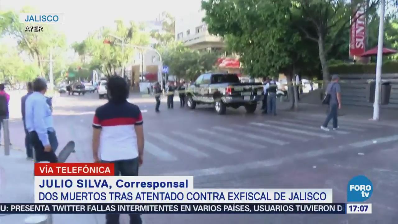 Continúan Operativos Jalisco Ataque Exfiscal
