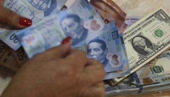 Dólar roza los 20 pesos a la venta en bancos capitalinos