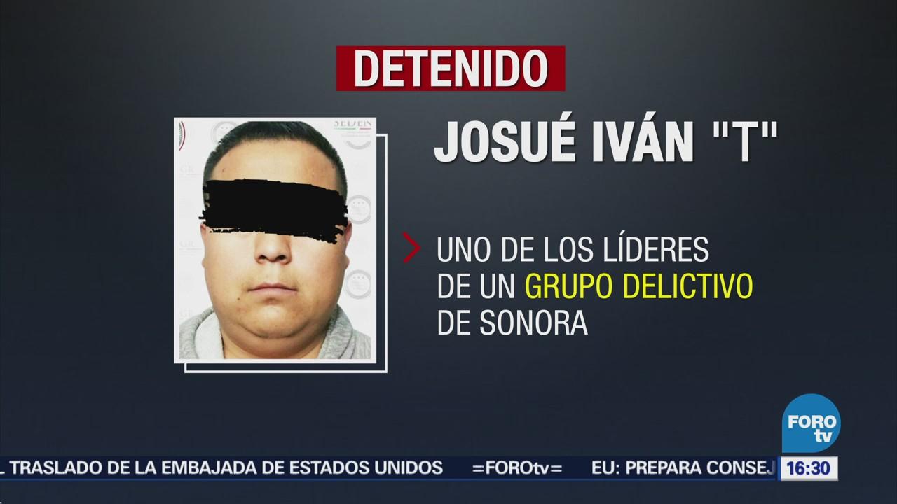 Detienen Presunto Líder Criminal Sonora