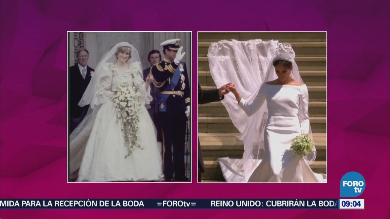 El vestido de Meghan Markle luce espectacular | Noticieros Televisa