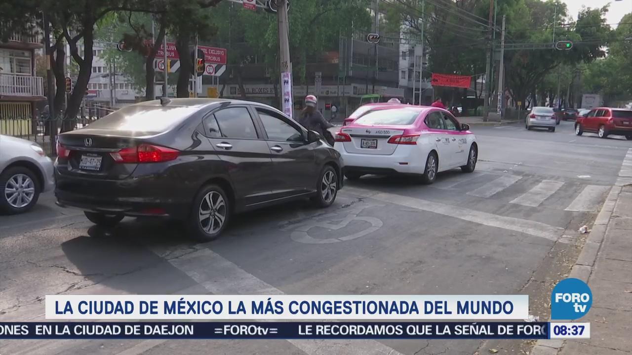 Extra Extra: La CDMX la más congestionada del mundo