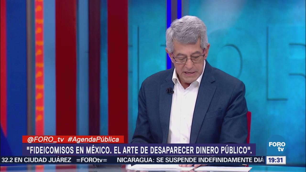 Fideicomisos México Espacio Opacidad Dinero Público