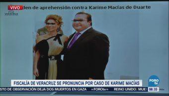 Fiscalía Veracruz Orden Aprehensión Karime Macías