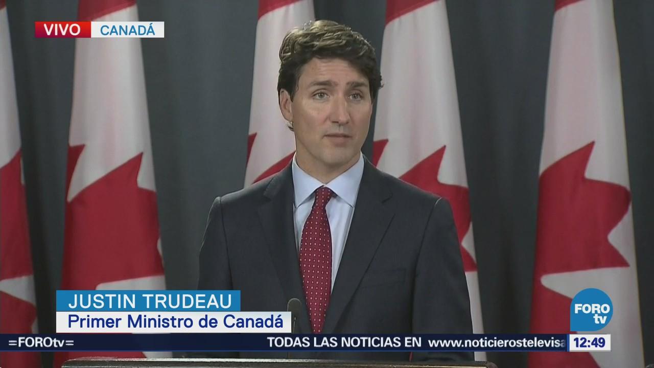 Imposición de aranceles de EU a Canadá afecta relación de amigos: Trudeau