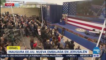Inaugura EU nueva embajada en Jerusalén