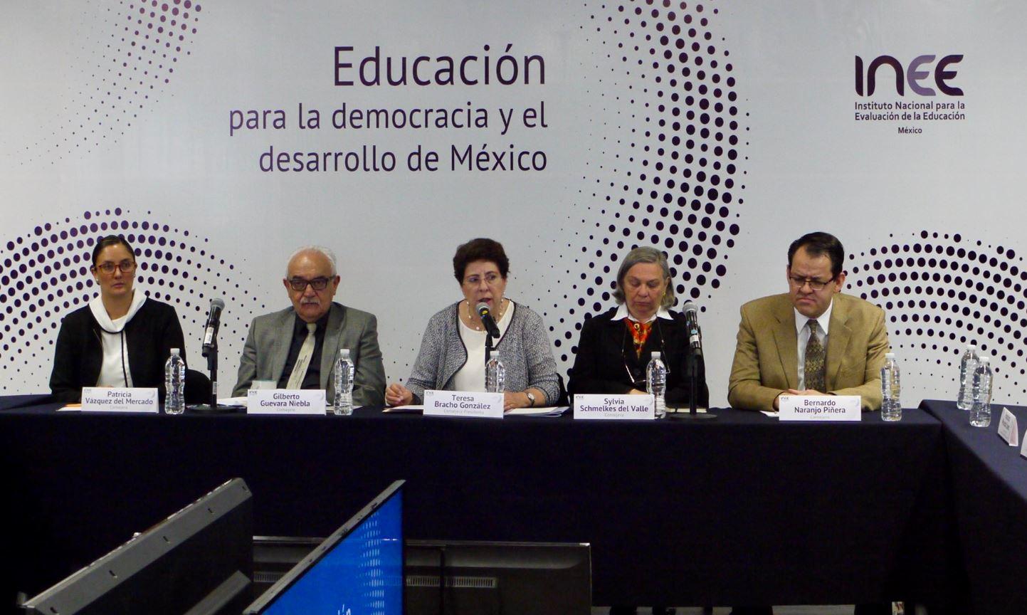 INEE asegura que debate educativo ha sido pobre en campañas presidenciales