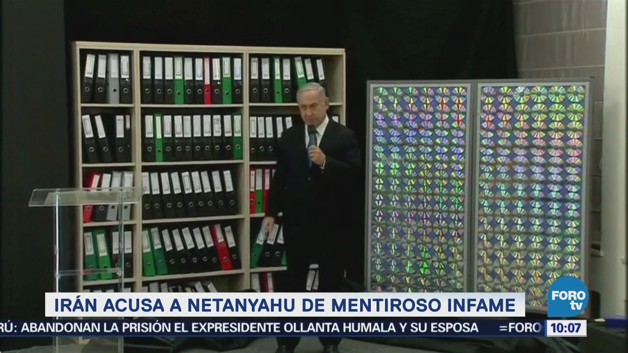 Irán acusa a Netanyahu de mentiroso infame