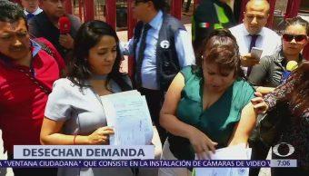 Juez desecha demanda de Nestora Salgado contra Meade