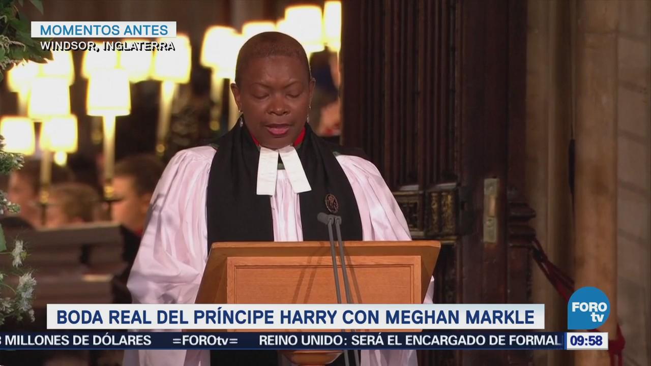 Parte Final Ceremonia Príncipe Enrique Meghan Markle