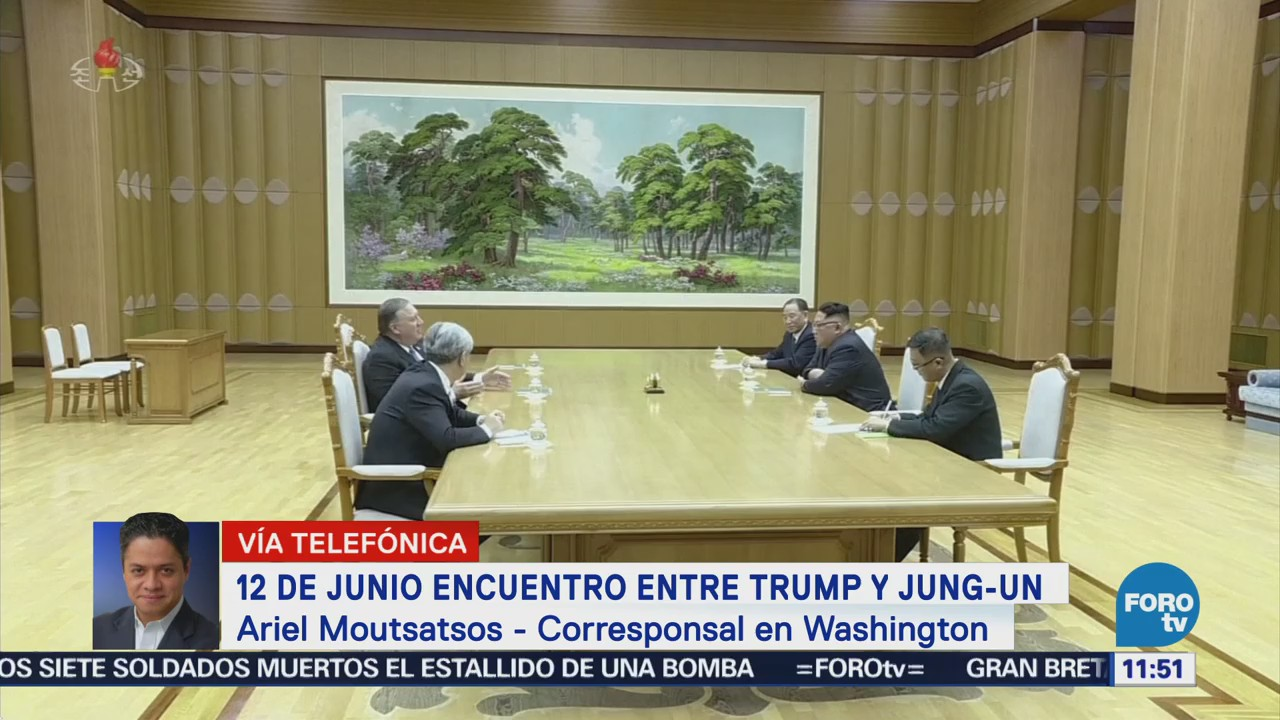 La reunión histórica entre Trump y Kim Jong Un en Singapur