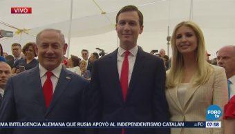 Llegan políticos a la inauguración de la embajada de EU en Jerusalén