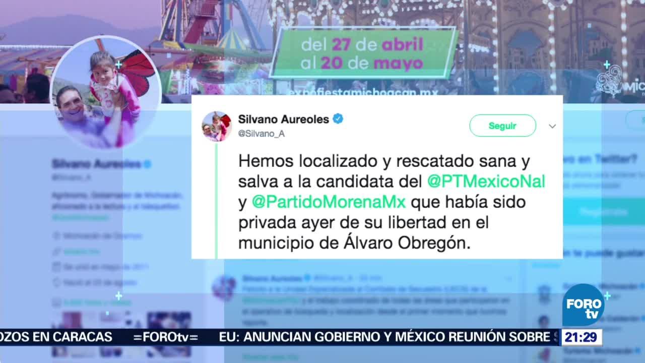 Localizan Candidata Morena Álvaro Obregón Michoacán
