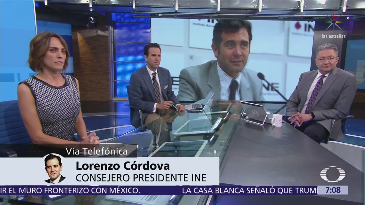 Lorenzo Córdova habla de la contienda y la boleta, tras renuncia de Margarita Zavala