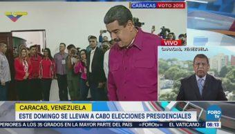 Maduro pide a la comunidad internacional respetar resultados electorales