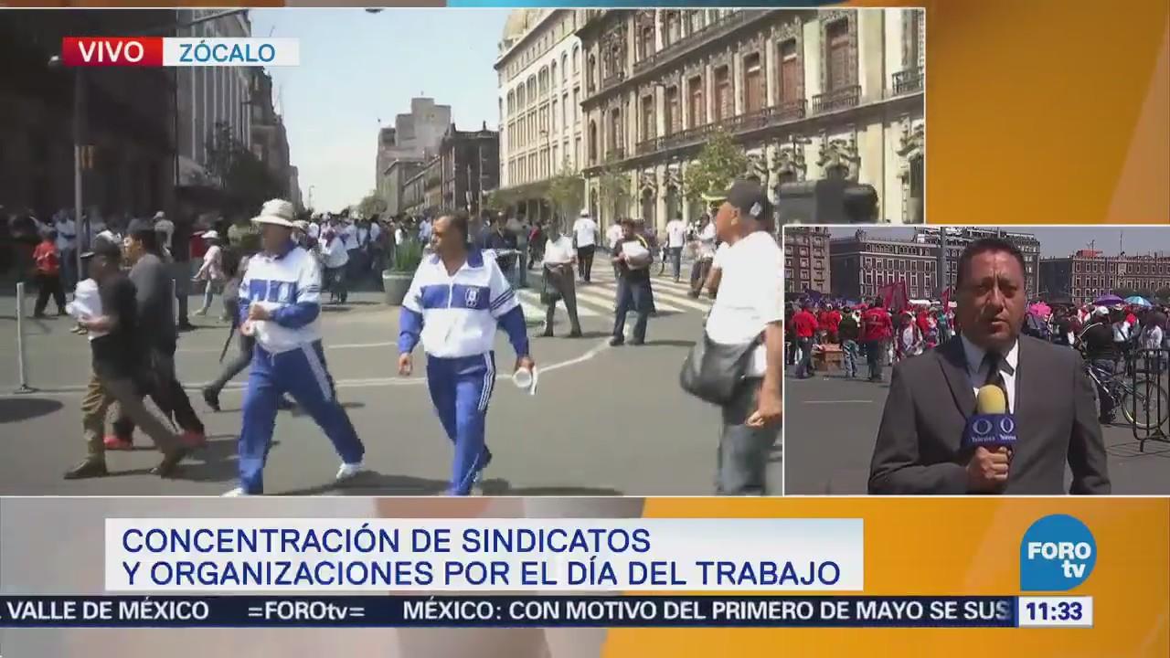 Manifestaciones afectan calles y avenidas del centro de a CDMX
