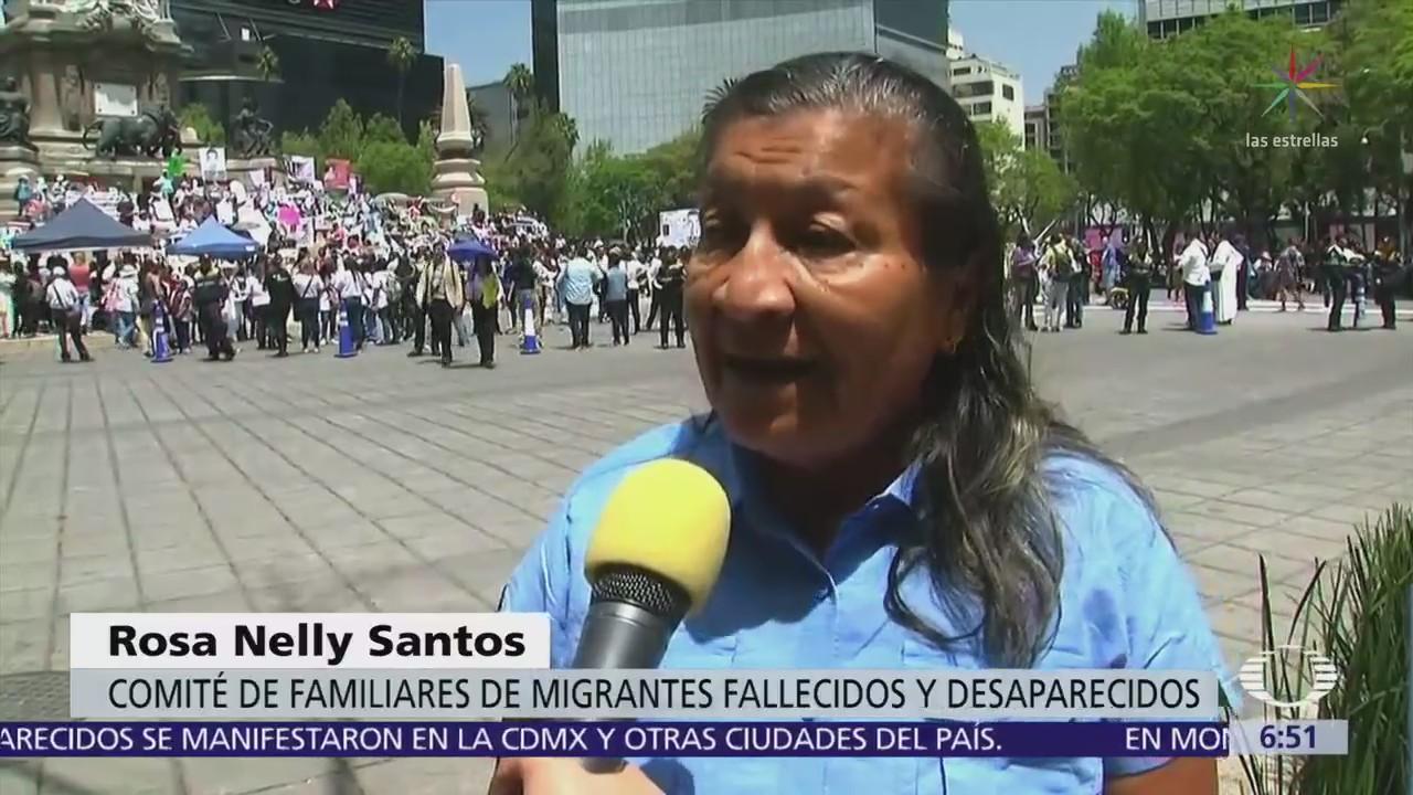 Marchan Madres Centroamericanos Desaparecidos México
