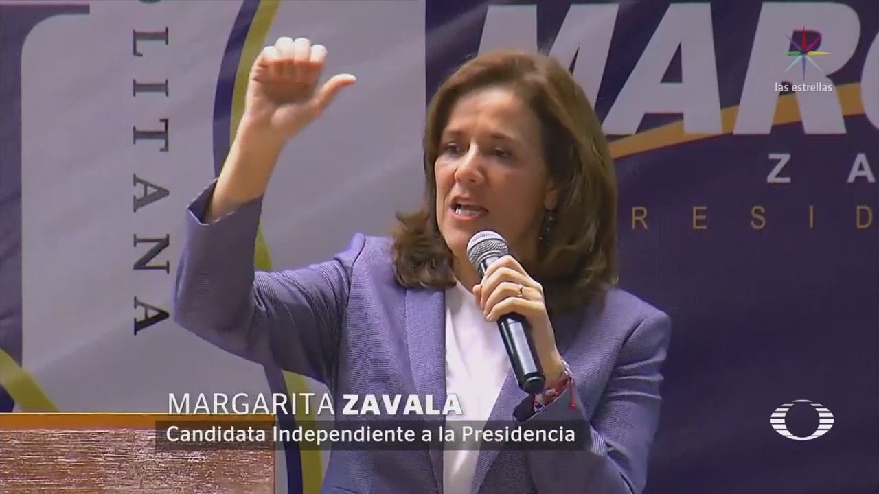 Margarita Zavala Comprara Discursos Odio Trump