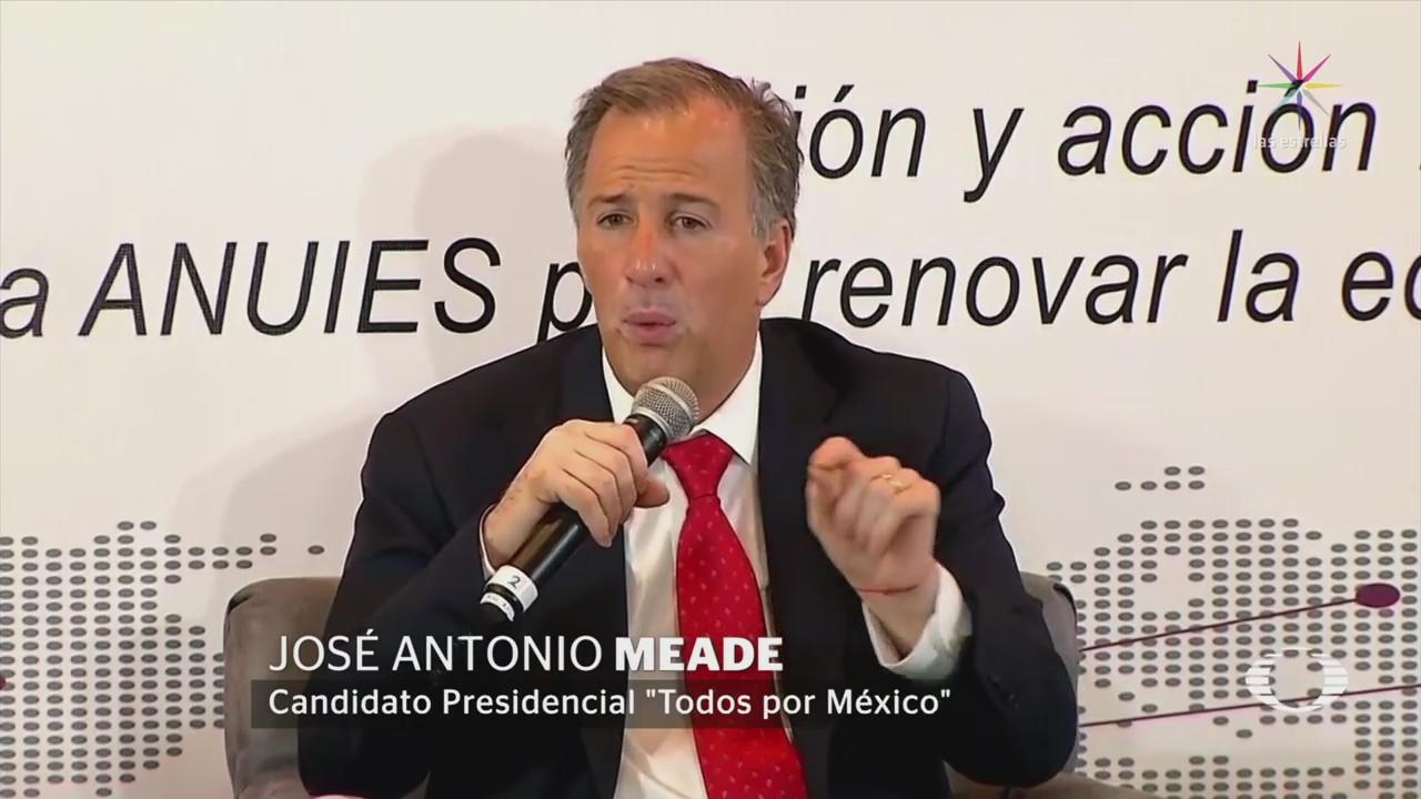 Meade Considera Necesario Investigar Universidades Vinculadas Corrupción