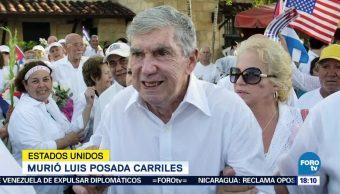 Muere Anticastrista Luis Posada Carriles Florida