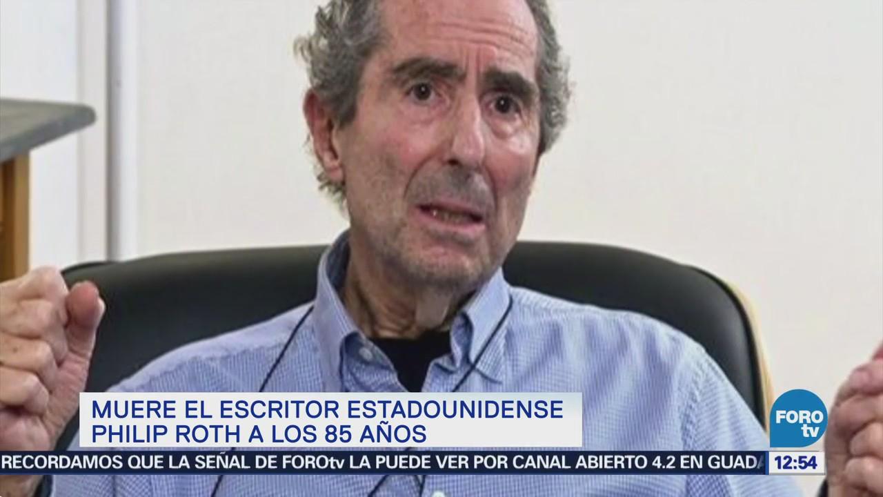 Muere escritor estadounidense Philip Roth \' | Noticieros Televisa
