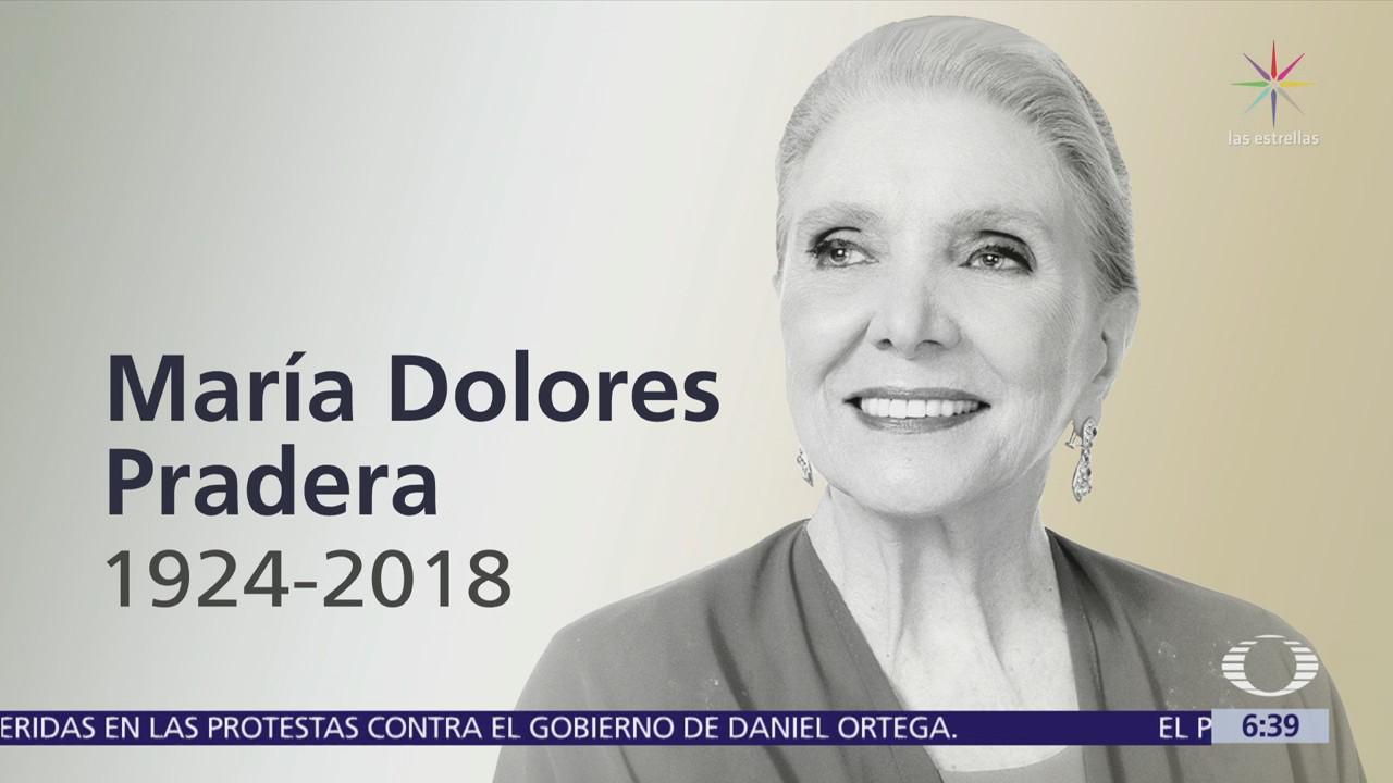 Muere María Dolores Pradera a los 93 años