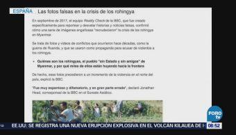 Noticias falsas afectan a españoles