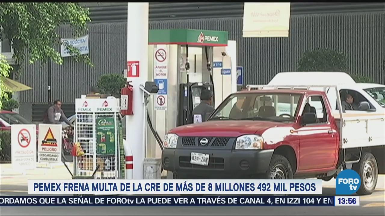 Pemex libra multa de 8 millones de pesos impuesta