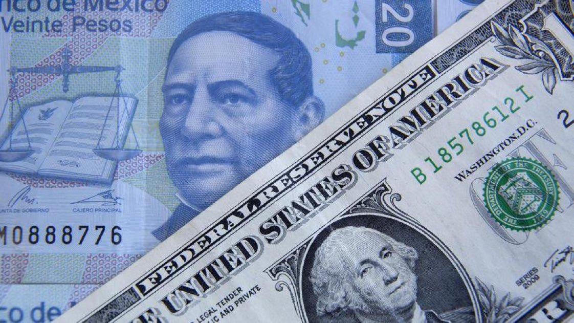 Moneda mexicana corta racha frente al dólar