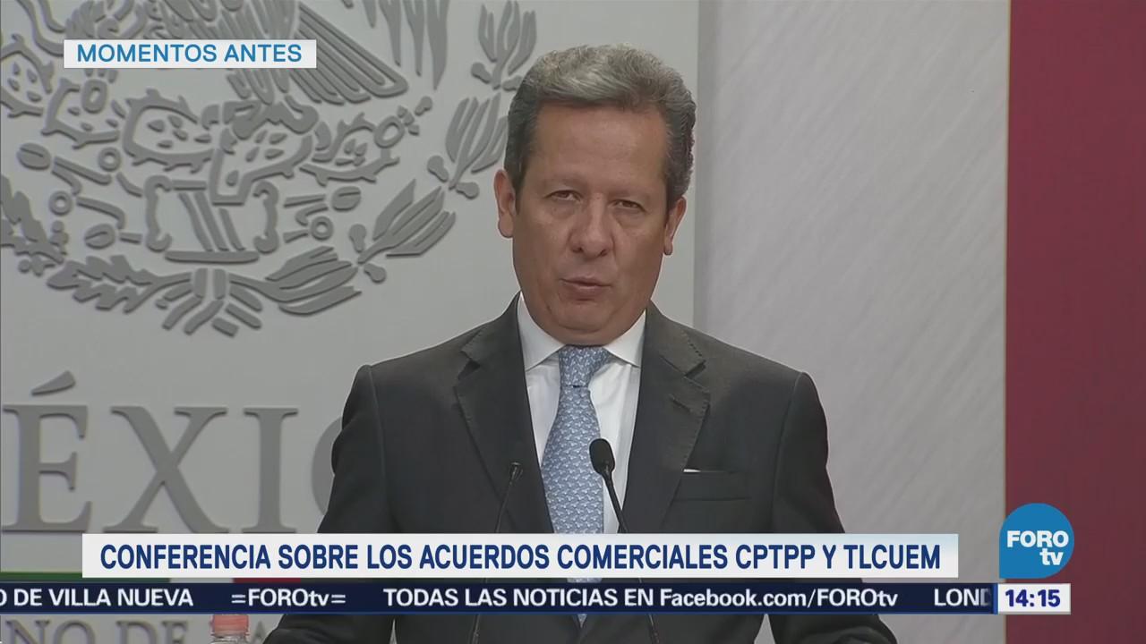Presidencia México Alcanza 13 Tratados Libre Comercio Mundo