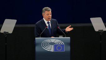 Proceso de paz en Colombia, 'irreversible', asegura Santos