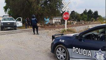 Implementan operativo antirrobo a trenes en Puebla