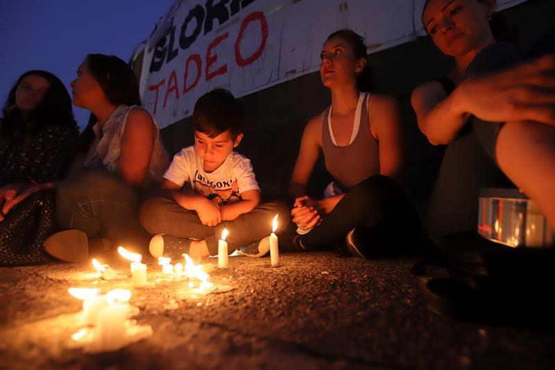 Realizan velada por muerte de Tadeo en Jalisco