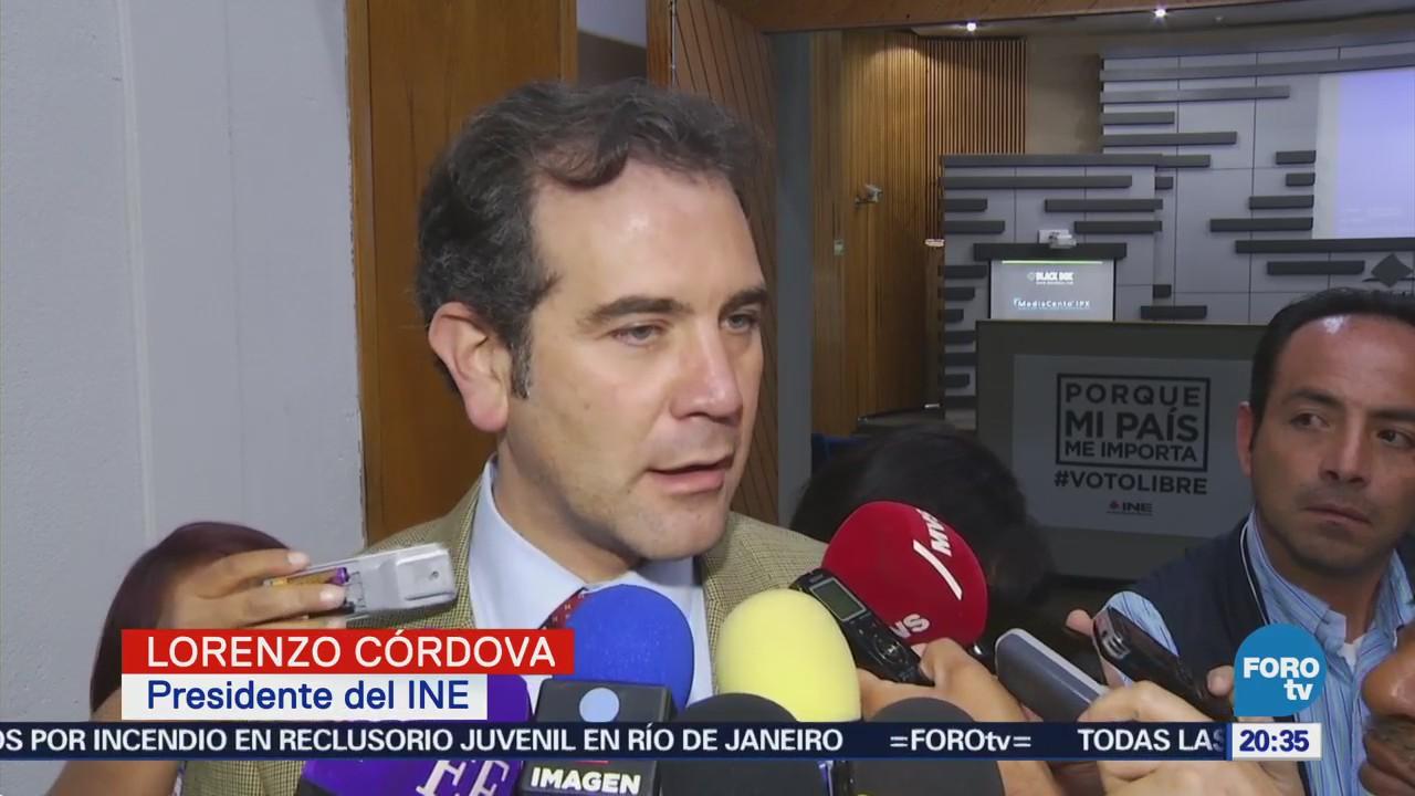 Registro Nestora Salgado Legal INE Lorenzo Córdova