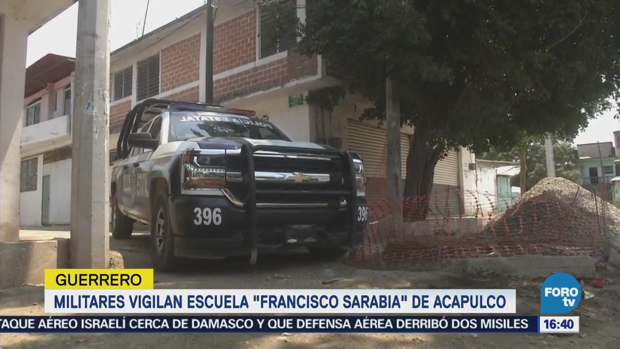 Regresan Clases Secuestro Mujer Escuela Acapulco