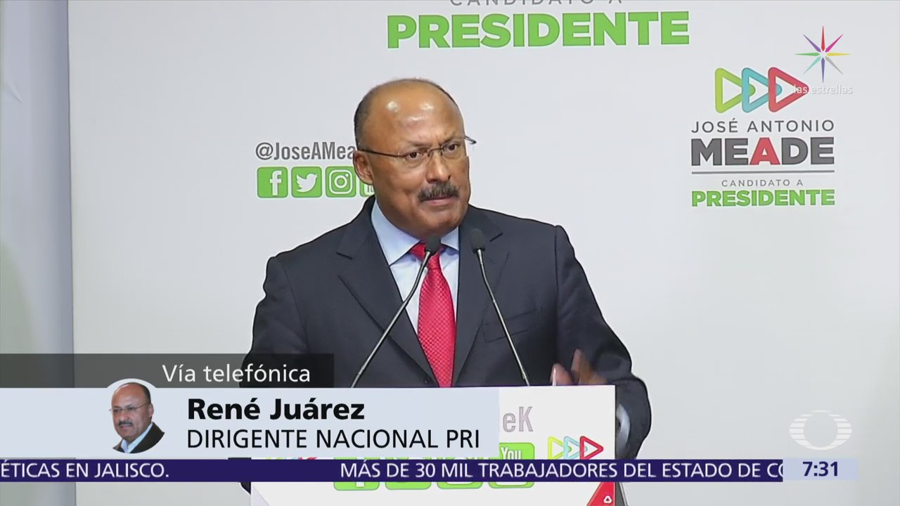 René Juárez Cisneros en Despierta habla del PRI