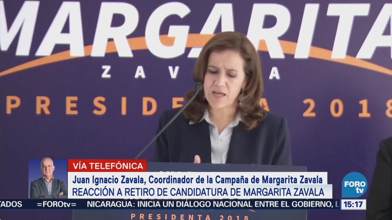 Renuncia de Margarita fue un acto de congruencia